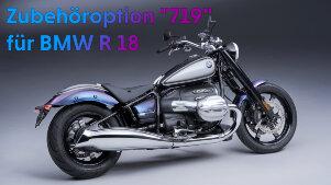 Option 719 für BMW R 18 und R 18 Classic: Edles Werkszubehör für den Big Boxer