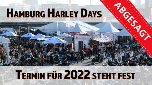 Hamburg Harley Days auf 2022 verschoben