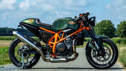 Heißes Eisen: Café Racer Metisse KTM CR690