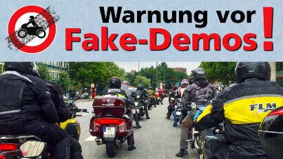 Demo-Hinweis: Keine Motorrad-Demo am 29.08.20 in Berlin!