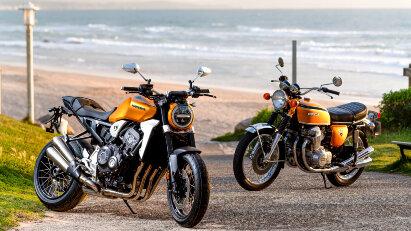 Wheels & Waves: Jubiläum der Honda CB750