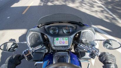 Apple CarPlay für das Indian Motorcycle Command System