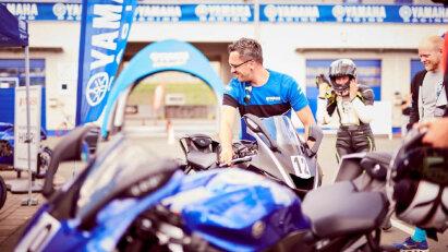 Yamaha Track Days in Oschersleben begeistern Racer