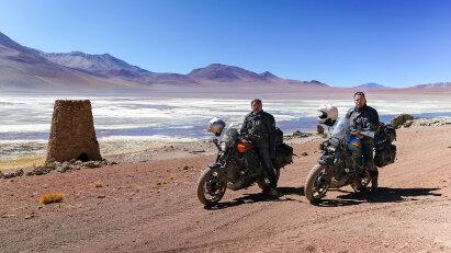 Long Way Up mit Harley-Davidson LiveWire