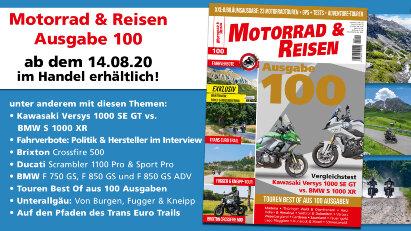 Vorschau: Motorrad & Reisen Jubiläumsausgabe 100