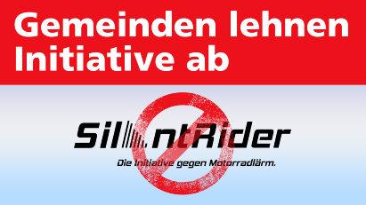 Politiker stimmen gegen Motorradlärm-Initiative Silent Rider