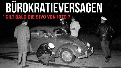 Alte StVO ebenfalls ungültig: Gilt bald der Bußgeldkatalog von 1970?