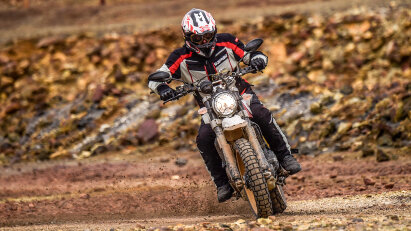Test: Ducati Scrambler Desert Sled - hochbeinige Italo-Schönheit