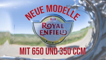 Modelloffensive: Royal Enfield 650 Bobber und Meteor 350