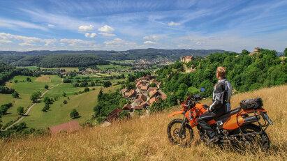 Franche-Comté - Entlang des unentschlossenen Flusses