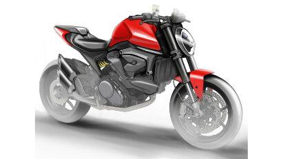 Ducati Neuheiten: Desert-X, Motard und eine neue Monster ohne Gitterrohrrahmen