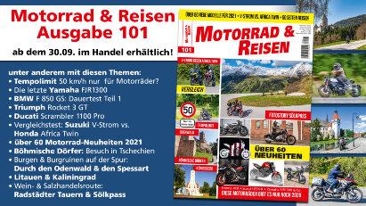 Vorschau: Motorrad & Reisen Ausgabe 101