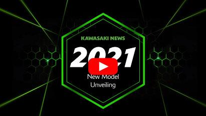 Kawasaki-Video zu sechs neuen Motorrädern für 2021