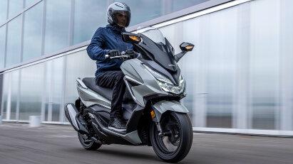 Honda Forza 350: Modell-Update für 2021