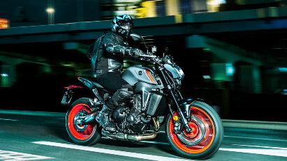 Yamaha MT-09 - mehr Hubraum und agileres Handling