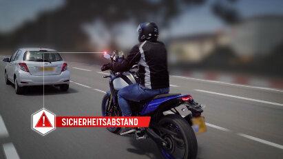 Ride Vision: Nachrüstbarer Kollisionswarner für alle Motorräder