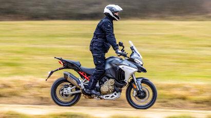 Ducati Multistrada V4 - Vorserienmodell gefahren