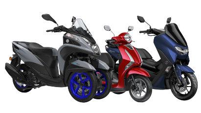 Drei Yamaha-Roller für Autoführerscheinbesitzer – Tricity 300, NMAX 125 und Delight