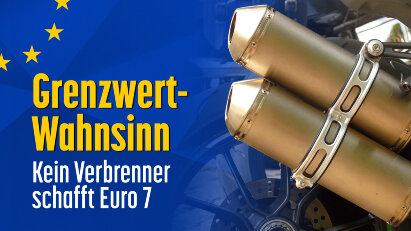 Grenzwert-Wahnsinn: Kein Verbrenner schafft Euro 7