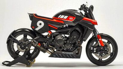 Bottpower-Umbausatz für Yamaha MT-09 und XSR900