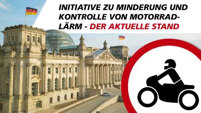 Versteckte Verbote? Motorradlärm-Initiative im Bundestag – der aktuelle Stand.