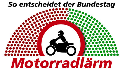 Motorradlärm-Initivative der Grünen: Fahrverbote und db(A)-Grenzen – so entscheidet der Bundestag