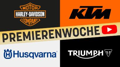 Premierenwoche: Harley-Modelle 2021, Speed Triple 1200 RS, KTM 890 Duke und Husqvarna