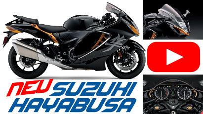 Suzuki präsentiert Hayabusa 2021