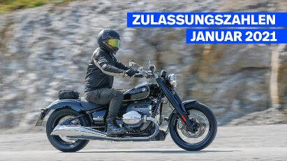 Zulassungszahlen Januar 2021: BMW R 18 auf Platz 3