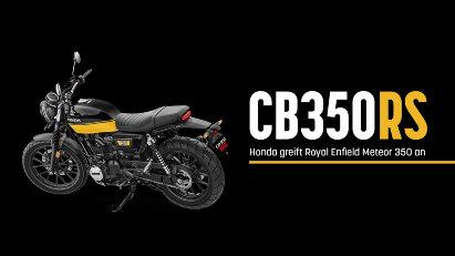 CB350RS: Honda greift die Royal Enfield Meteor 350 an