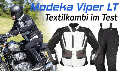 Modeka Viper LT: Textilkombi im Test
