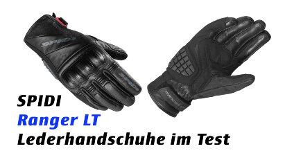 Spidi Ranger LT: Motorradhandschuh aus Leder im Test