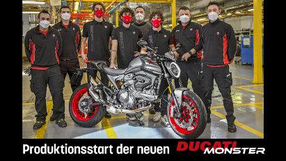 Produktionsstart der Ducati Monster 2021