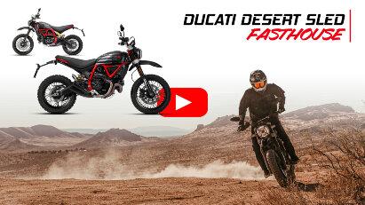 Ducati Scrambler Desert Sled Fasthouse – Sondermodell zum Rennsieg