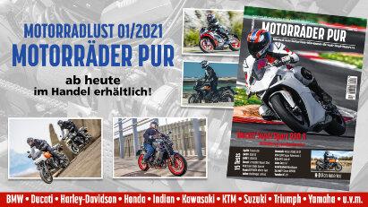 Motorräder PUR 01/2021 - ab heute erhältlich!