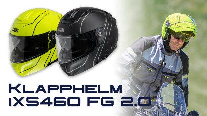 iXS 460 FG 2.0: Klapphelm im sportlichen Look