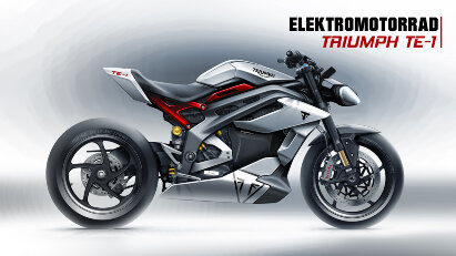Triumph TE-1: Elektromotorrad mit knapp 180 PS