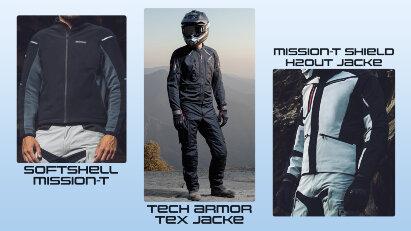 Spidi Motorradjacke mit Step-InArmor-Technologie