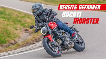 Ducati Monster im Test: Fahrspaß garantiert!