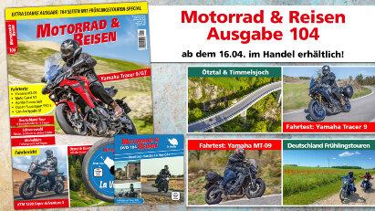 Motorrad & Reisen Ausgabe 104 mit DVD La Vendée
