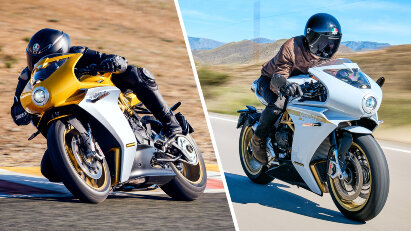 MV Agusta Superveloce und Superveloce S: Dreizylinder-Supersportler im Retro-Gewand