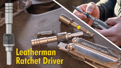 Leatherman Ratchet Driver: Umschaltratsche für Multi-Tools