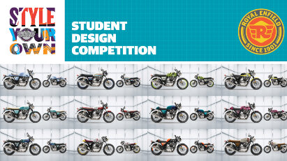 Royal Enfield Designwettbewerb: Style Your Own