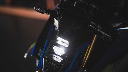 Suzuki GSX-S1000, Voll-LED-Ausstattung