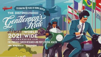 Distinguished Gentleman's Ride: Motorrad fahren und Gutes tun