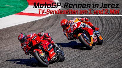 Am 1. und 2. Mai 2021 startet die MotoGP in Jerez: Die TV-Sendezeiten im Überblick
