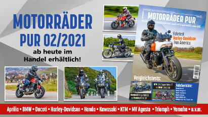 Motorräder PUR 02/2021 – ab heute erhältlich!