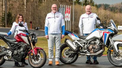 Honda-Fahrerlebnisse am Nürburgring: Mit Sicherheit mehr Fahrspaß auf zwei Rädern