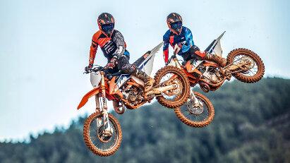 KTM Motorcross-Modelle für 2022