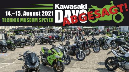 Kawasaki Days 2021: Veranstaltung auf 2022 verschoben